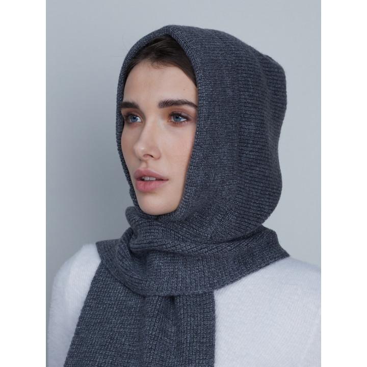 Акрис капюшон (шарф) трикотажный