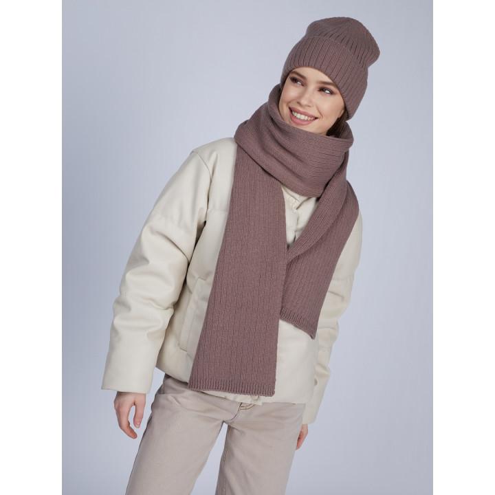 Ланима комплект (шапка+шарф) трикотажный