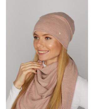 Мимоза шапка трикотажная