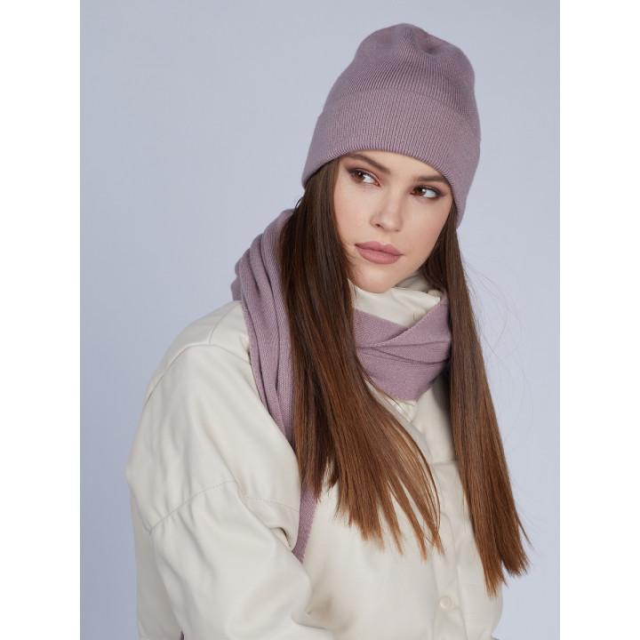 Нота комплект (шапка+шарф) трикотажный