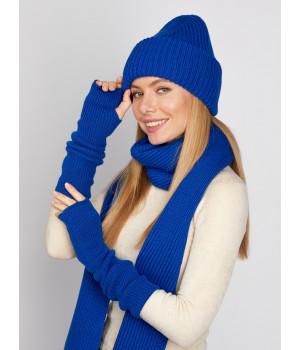 Осень шарф трикотажный
