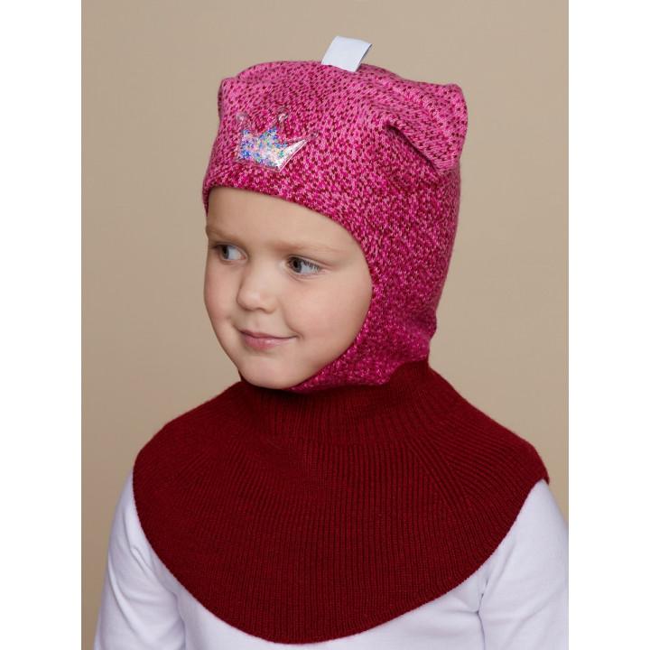 Снежинка шапка-шлем