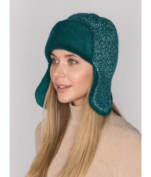 Фанта шапка-ушанка трикотажная